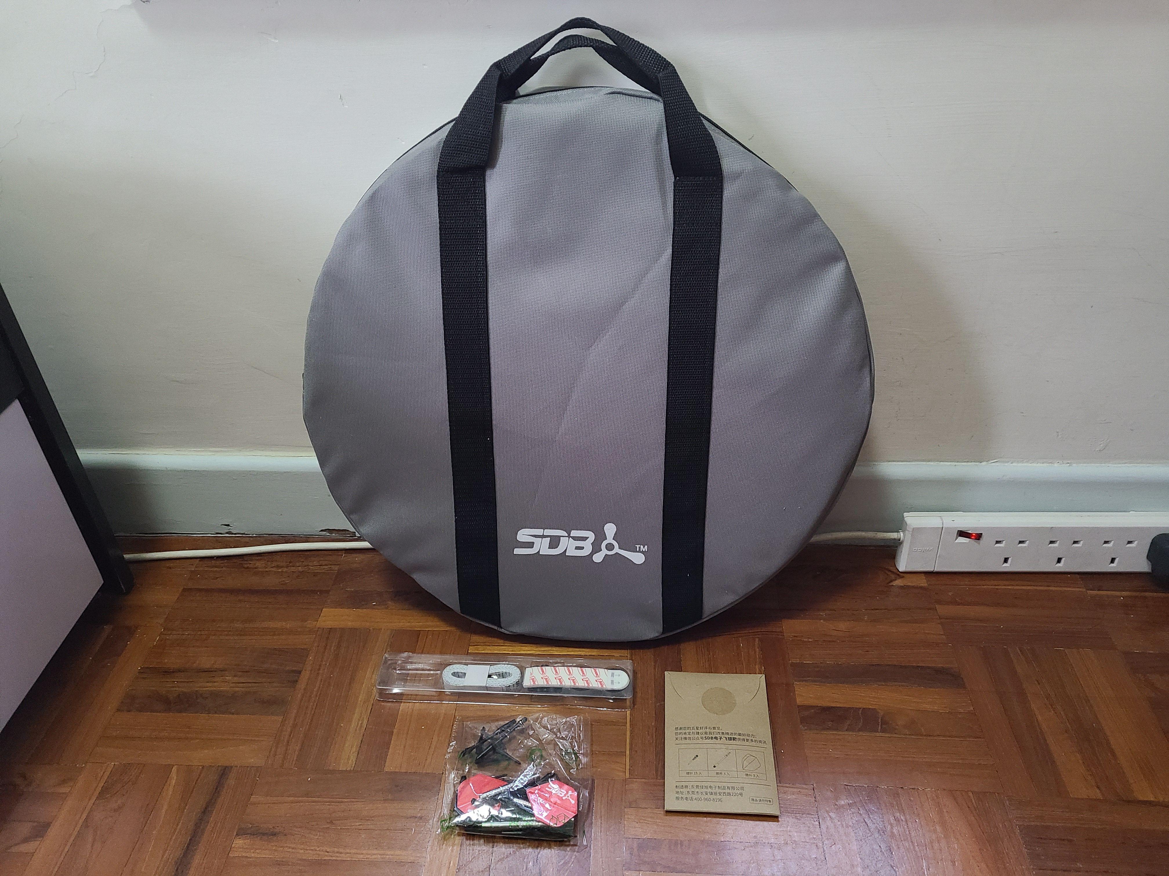 SDB A1 包裝盒內的所有物品
